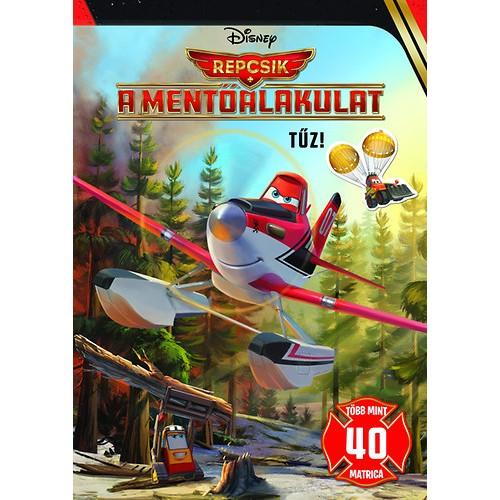 Disney - Repcsik 2 - A mentőalakulat - Tűz! - Foglalkoztató