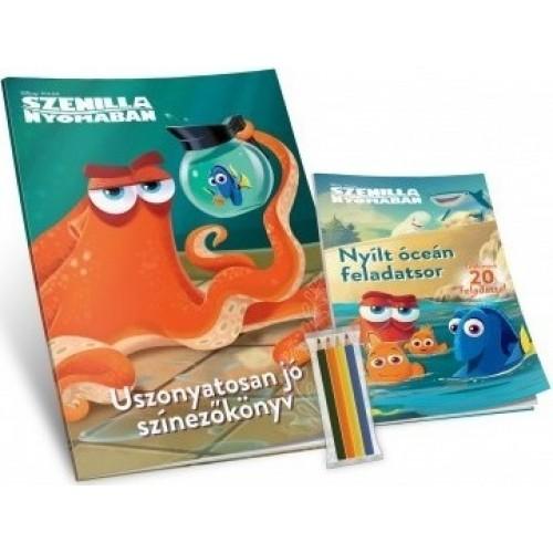 Disney - Szenilla nyomában - Jumbó foglalkoztató - Uszonyatosan jó színező könyv + Nyílt óceán feladatsor