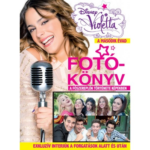Disney - Violetta - Fotókönyv - A második évad