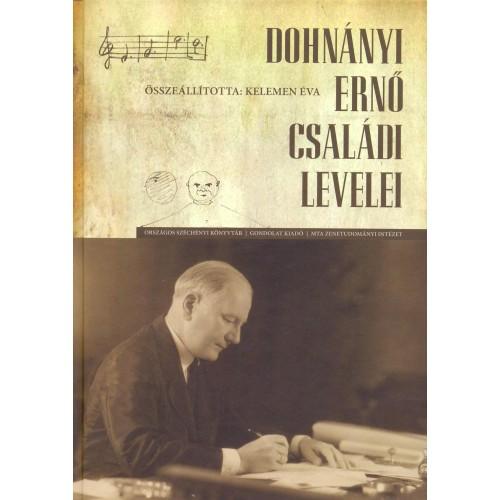 Dohnányi Ernő családi levelei + CD