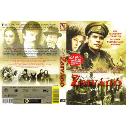 Doktor Zsivágó 1-2. rész (DVD)