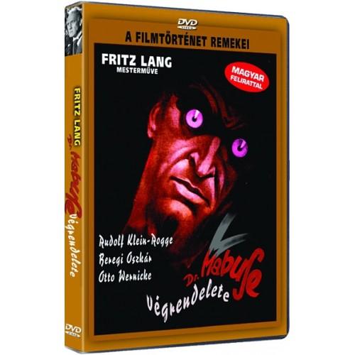 Dr. Mabuse végrendelete (DVD)