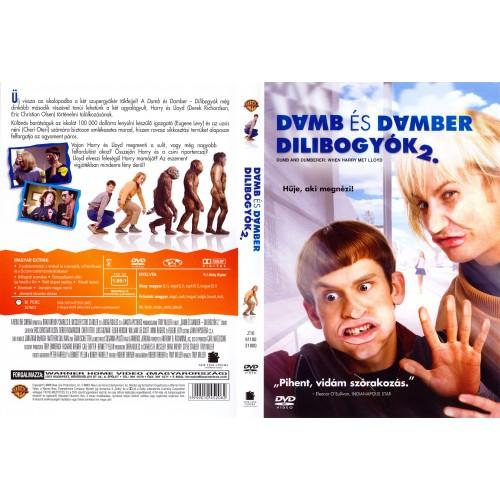 Dumb és Dumber: Dilibogyók 2. (DVD) *