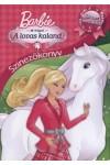 A lovas kaland - Barbie & húgai - Színezőkönyv szuper matricákkal