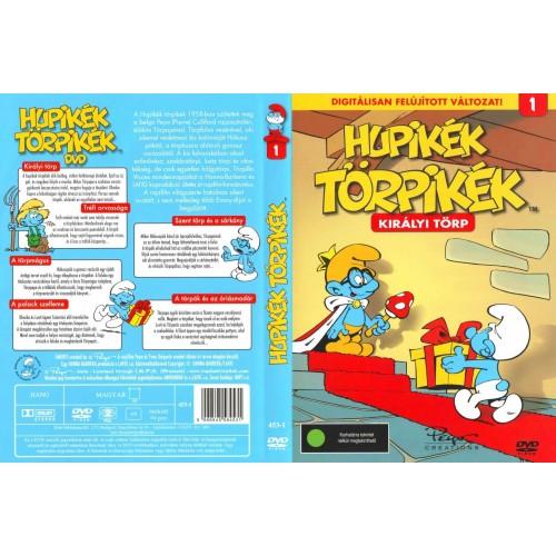 Királyi törp - Hupikék törpikék 1. (DVD) *