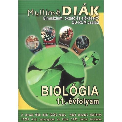 MultiméDIÁK - Gimnáziumi oktató és előkészítő CD-ROM család - Biológia 11. évfolyam