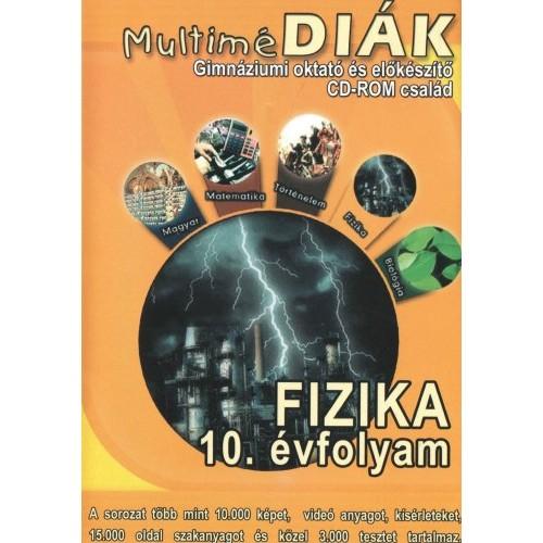 MultiméDIÁK - Gimnáziumi oktató és előkészítő CD-ROM család - Fizika 10. évfolyam