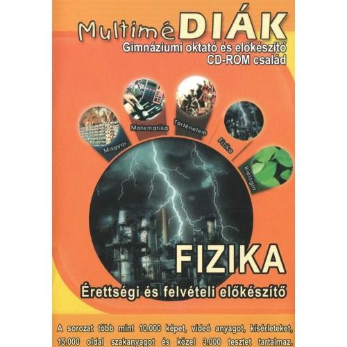 MultiméDIÁK - Gimnáziumi oktató és előkészítő CD-ROM család - Fizika érettségi és felvételi előkészítő