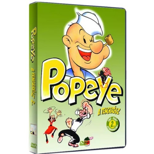 Popeye, a tengerész 2. (DVD) *