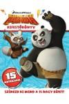 DWA Kung Fu Panda - kifestőkönyv matricákkal