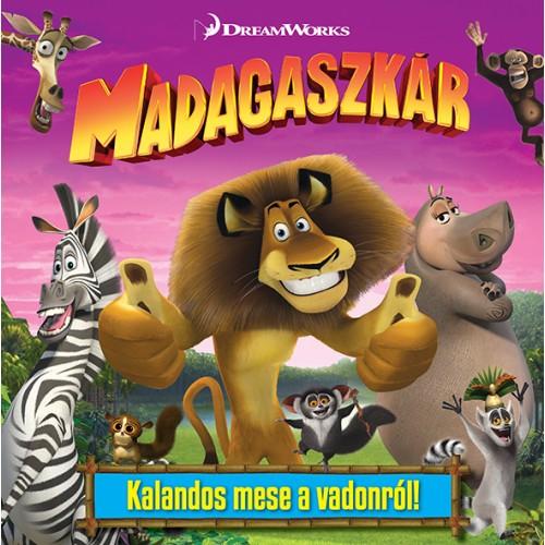 DWA Madagaszkár - mesekönyv