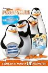 DWA Madagaszkár pingvinjei - kifestőfüzet matricákkal