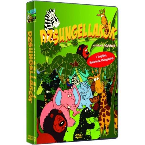 Dzsungellakók (DVD)