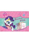 Divatos pónik - My Little Pony (Kreatív matricás divattervezőkönyv) *