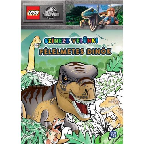Félelmetes dínók - LEGO Jurassic World (Színezz velünk)