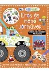 Erős és menő járművek - Mini művész (Játékos színezőkönyv matricákkal)