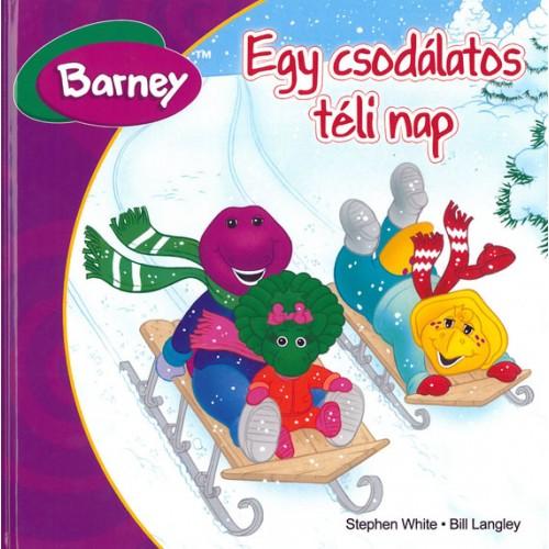 Egy csodálatos téli nap (Barney), Mirax kiadó, Gyermek- és ifjúsági könyvek