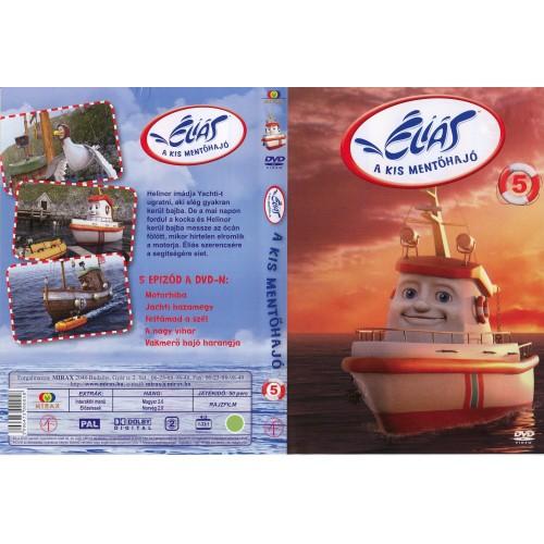 Éliás, a kis mentőhajó 5. (DVD)