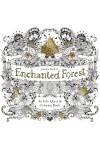Enchanted Forest (Elvarázsolt erdő felnőtt színező füzet, nagy)