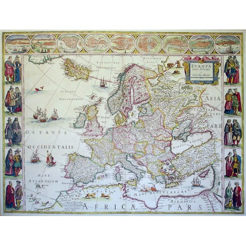 Europa 1641 Antik Dekoracios Faliterkep Digipel Kft Kiado
