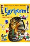Fantasztikus matricásfüzet - Egyiptom sok-sok matricával