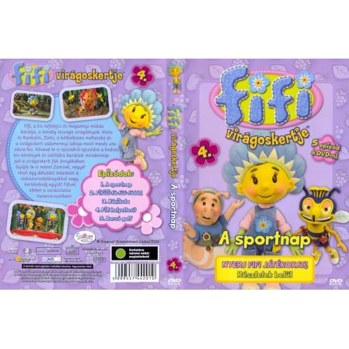 Fifi virágoskertje 4. - A sportnap (DVD)