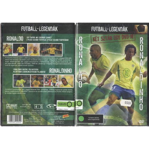 Futball legendák - Ronaldo - Ronaldinho (DVD)