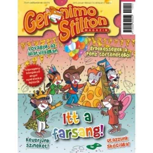 Geronimo Stilton 2015 - 6 magazin egy csomagban