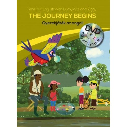 Gyerekjáték az angol! 2. - The Journey Begins - Time for English with Lucy, Wiz and Ziggy