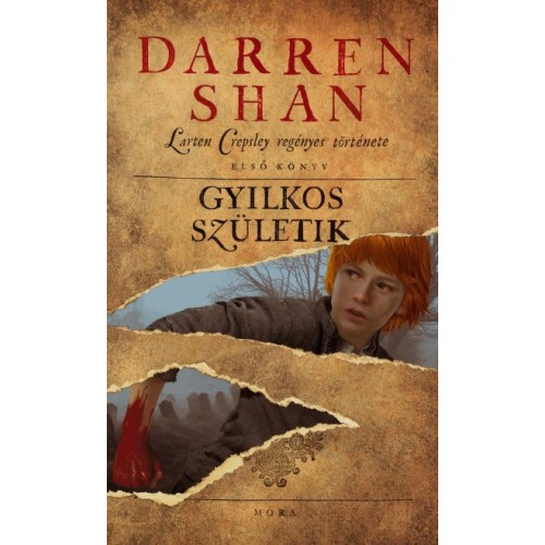 Gyilkos születik - Larten Crepsley regényes története 1. (Darren Shan)