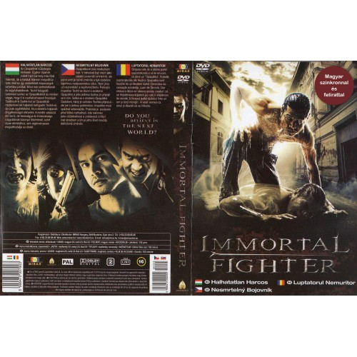 Halhatatlan harcos (DVD)