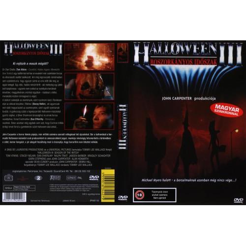 Halloween 3. Boszorkányos időszak (DVD) *