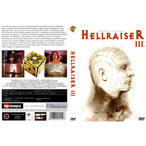 Hellraiser 3. - Hell on Earth (DVD)