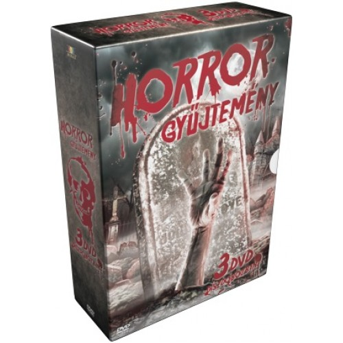 Horrorgyűjtemény díszdoboz (3 DVD): Alvajáró, Idéző, Ideglelés 2. (DVD)