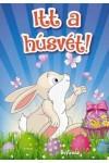 Itt a húsvét! (kifestő)