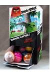 Játék - Angry Birds - Világítós tüsilabda - 30 db egy dobozban