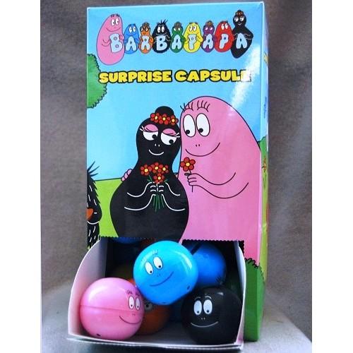 Játék - Barbapapa - Barba radírfigurák - 30 db egy dobozban
