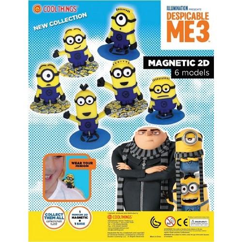 Játék - Minions (Minyonok) - Figurák mágnessel - 30 db egy dobozban