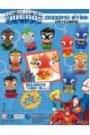 Játék - Super Friends (DC Szuperhősök) - Kulcstartós, nyomásra kidülledő szem