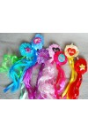 Játék - Barbie - Póthaj divatos hajcsattal