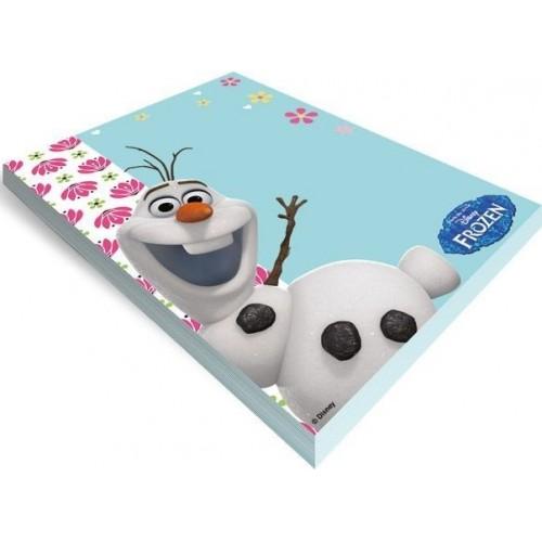 Jégvarázs / Frozen jegyzettömb (Olaf)