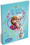Jégvarázs / Frozen keményfedeles notesz (My Sister, My Hero)