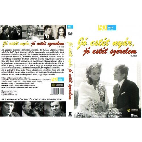 Jó estét nyár, jó estét szerelem I-II. (DVD) *