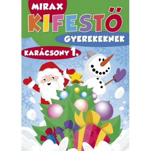 Mirax kifestő gyerekeknek – Karácsony 1.