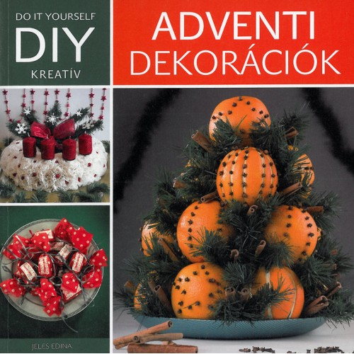Adventi dekorációk DIY