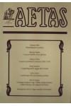 Aetas Történettudományi folyóirat 1997/1