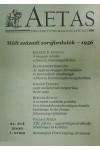 Aetas Történettudományi folyóirat 2006/1