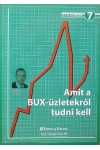 7. Amit a BUX-üzletekről tudni kell