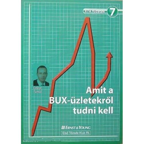 7. Amit a BUX-üzletekről tudni kell, ETK kiadó, Gazdaság, pénzügyek, marketing, reklám