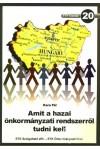20. Amit a hazai önkormányzati rendszerről tudni kell